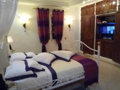 chambre romantique, Tunisie, vacances